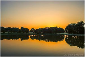 Blickling Hall sunset