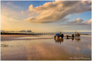 Bringing in the catch at Cromer