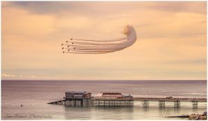 Cromer Pier and Red Arrows